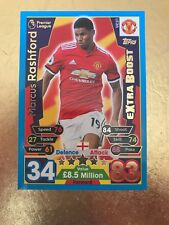 Match Attax Extra Season 17/18 Man Utd #UC21- Marcus Rashford