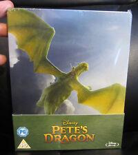 Pete's Dragon (2016) Blu-Ray Steelbook New Sealed Region Free Disney Classic