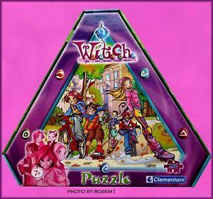 Disney W.I.T.C.H. Dolls Witch 210 pieces Puzzle & Pendants Age 7+ Clementoni Mad