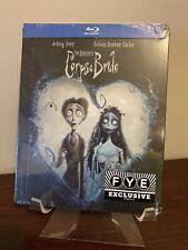 Corpse Bride Steelbook (Blu-ray, 2005) Factory Sealed