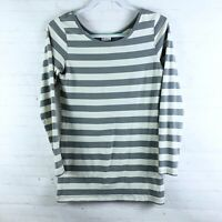 Matilda Jane Women's Size M Striped Long Sleeve Top Stretch AT16135