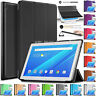 """Leather Magnetic Smart Stand Pouch Case Cover For LENOVO Tab 4 10 (10.1"""" 2017)"""
