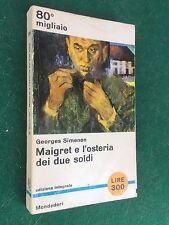 Georges SIMENON - MAIGRET E L'OSTERIA DEI DUE SOLDI Libri del Pavone/391 (1964)