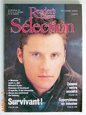 SÉLECTION DU READER'S DIGEST DE OCTOBRE 2000, EN COUVERTURE SURVIVANT