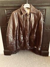 Vintage Brown Steerhide Jacket