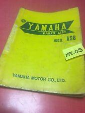 Yamaha 125 AS3 RD125AS3 125AS3 liste catalogue pièces détachées édition 1971