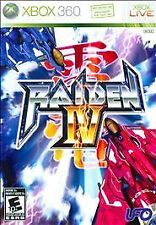 Raiden IV (Microsoft Xbox 360, 2009) Complete with Soundtrack!