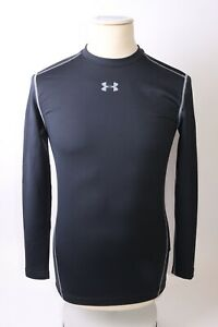 Under Armour Men's Mock Fitted Base Layer - L - Black