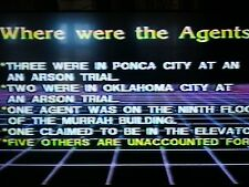 OKC BOMBING: THE FORERUNNER TO 9-11? DVD/NEW WORLD ORDER CONSPIRACY~POLICE STATE