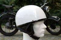 Oldtimer Helm Halbschale für Simson AWO EMW Schwalbe S51 Vespa Größe L