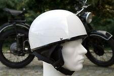 Oldtimer Helm Halbschale für Simson AWO EMW Schwalbe S51 Vespa Größe S M L XL