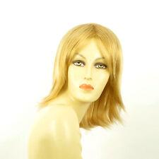 Perruque femme mi-longue blond clair doré NEIGE LG26
