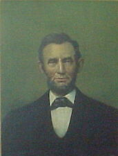 Abraham Lincoln Portrait. VERY NICE!!!!