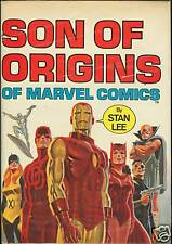 Rare Marvel Fireside Son of Origins Marvel Hardcover HC