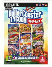 RollerCoaster Tycoon 9 megapack Steam descarga digital key código [es] [ue] PC