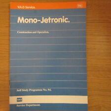 AUDI 100 200 c3 tipo 44 2,2l einspritzmotor K-Jetronic Turbo Officina Manuale