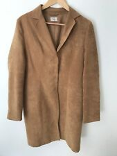 45c739f65f Target Size 14 Tan Suede Jacket Trench Coat Great Condition