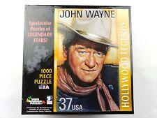 White Mountain Puzzles Hollywood Legends JOHN WAYNE 37 USA Postage 1000 Pc 27x20