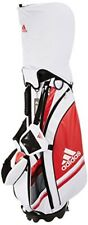 2018 NEW Adidas Golf Caddy Bag Stand Caddy Bag AWU39 White / Red from japan