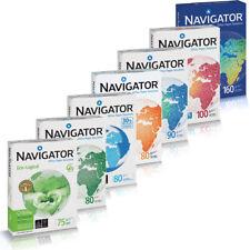 Premium Navigator Kopierpapier DIN A4 A3 75 80 90 100 120 160g/m² Druckerpapier