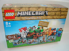 LEGO® 21116 Minecraft™ Crafting Box NEU OVP_New MISB NRFB