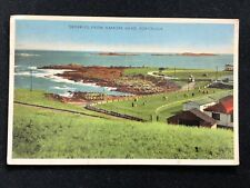 Postcard Skerries from Ramore Head, Portrush, Posted 1955