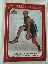 RUSSELL WESTBROOK 2007-08 UD CHRONOLOGY UPPER DECK ROOKIE GOLD XRC #15/25! RC SP