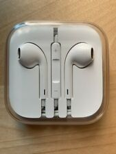 GENUINE APPLE IPHONE EARPOD HEADPHONE EARBUDS CORDED 3.5mm REMOTE & MICROPHONE