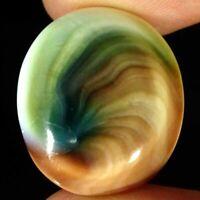 21.20Cts Natural Shiva Eye Oval Cabochon Loose Gemstone