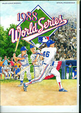 1988 World Series Program, Los Angeles Dodgers vs. Oakland A's