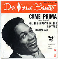 "DON MARINO BARRETO. COME PRIMA. RARE FRENCH EP 7"" 45  195? 50'S FOX SAMBA"