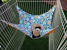 "Ferret Hammock - Colorful Soccer Balls - 15"" x 15"""