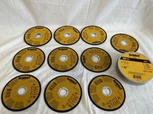 """DEWALT 10 PACK METAL CUT OFF WHEELS 4.5"""" X .045"""" X 7/8"""" DWA8051  DWA8051T10"""
