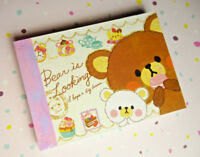 Crux Japan My Love Bear Mini Memo Pad Stationery Kawaii