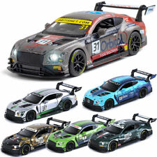 1:32 Bentley Continental GT3 Race Car Model Diecast Vehicle Collection Kids Gift