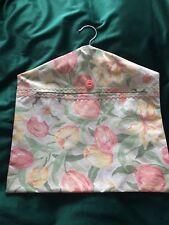Vintage Laura Ashley Fabric - Peg Bag, Tulips