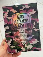 Kpop Korean Pop SNSD Girls Generation The Best Live 2014 Tokyo Dome Concert DVD