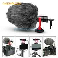 Universal Cardioid Condenser Video Microphone Shock Mount Soft For iPhone huawei