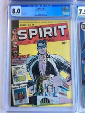 The Spirit #18 CGC 8.0 VF 11/1949 Golden Age Rare Hot Quality Comics BEAUTIFUL!!