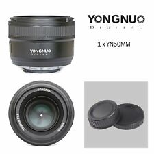 YONGNUO YN50MM F/1.8 Auto Focus Lens For Nikon D3100 D3200 D70 D80 D90 Camera
