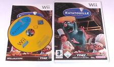 "Nintendo Wii Jeu ""Disney's ratatouille"" complet"