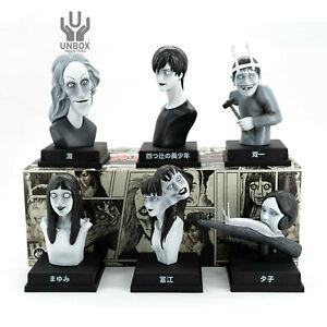 New 6 Pieces  UNBOX Junji Ito VINYL Figures Set Blind Box!!!!!