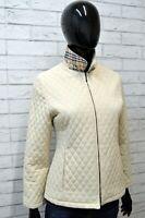 BURBERRY Giacca Donna Giubbotto Taglia Size S Jacket Woman Cappotto Trench