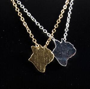 Französische Bulldogge Anhänger Halskette Schmuck Hund. Kette - Silber oder Gold