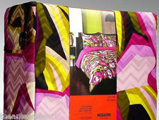 MISSONI x Target 'Large Floral' Full/Queen Duvet Cover & Shams Set NEW w/ Tags