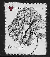 US Scott #4959, Single 2015 Vintage Rose VF MNH