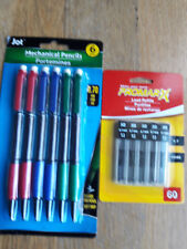 6 Mechanical Pencils ['Jot'/'inc' SoftScripts] and 60 Refills [PROMAX] //0.7 mm