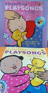 Early Years PLAYSONGS books and CDS. Livelytime, sleepytime Preschool Music