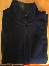 James Pringle Fleece Gilet Size S Navy Blue