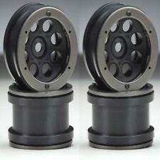 Axial AX8097 2.2 8-Hole Beadlock Wheels Black (4) Wraith Rock Racer